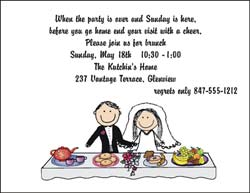 Adult Invitations From Pen At Hand Stick Figure Products By Wedding