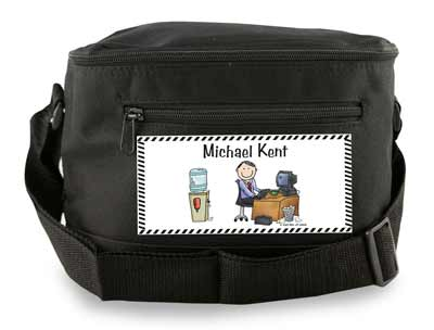 personalized 6 pack lunch sack