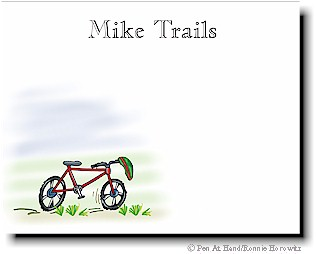 personalized theme card bike